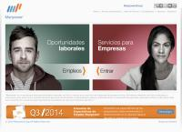 Sitio web de Manpower