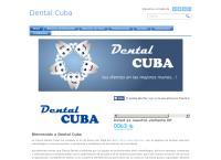 Sitio web de Dental Cuba