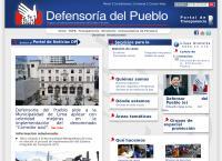 Sitio web de Defensoría del Pueblo - Sucursal San Juan de Miraflores