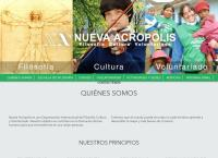 Sitio web de Organizacion Nueva Acropolis