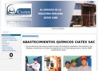 Sitio web de Abastecimientos Quimicos Ciatex S.A.C.