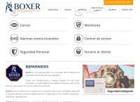 Sitio web de Cercos Eléctricos Boxer