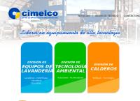 Sitio web de Cimelco