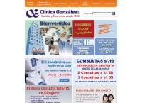 Sitio web de Clinica Gonzalez S.a.