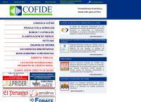Sitio web de Cofide