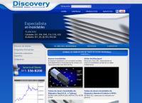 Sitio web de Discovery Inox S.a.c.