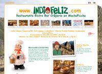 Sitio web de Indio Feliz