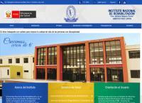 Sitio web de Instituto Nacional De Rehabilitacion Dra Adriana Rebaza Flores