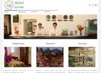 Sitio web de Hotel Lexus
