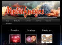 Sitio web de Corporacion Multifuegos S.a.c.
