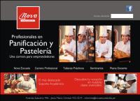 Sitio web de Escuela de Panadería y Pastelería Nova
