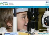 Sitio web de OPTIMA VISIÓN