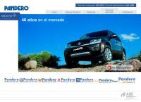 Sitio web de Pandero