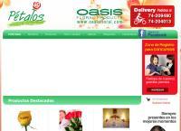 Sitio web de Floreria Petalos