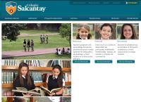 Sitio web de Colegio Salcantay
