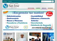Sitio web de Instituto Superior San Jose Oriol