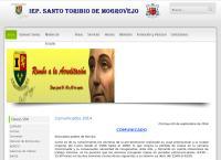 Sitio web de Colegio Santo Toribio de Mogrovejo