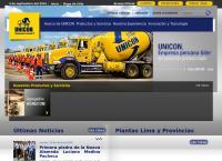 Sitio web de Unicon