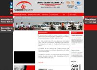 Sitio web de Grupo Vicmer Security Sociedad Anonima Cerrada