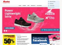 Sitio web de Bata Peru