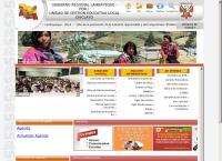 Sitio web de Ministerio de Educación - Direccion  Regional Chiclayo