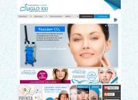 Sitio web de Instituto de Estética, Belleza y Rejuvenecimiento SIGLO XXI Sucursal MIRAFLORES