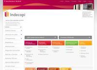 Sitio web de INDECOPI Sucursal AREQUIPA