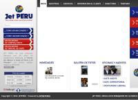 Sitio web de JET PERU S.A. SAN JUAN DE LURIGANCHO