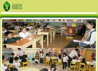 Sitio web de Colegio Mixto Santa Teresita