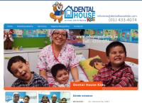 Sitio web de Odontopediatria Ortodoncia Clinica Dental House Kids