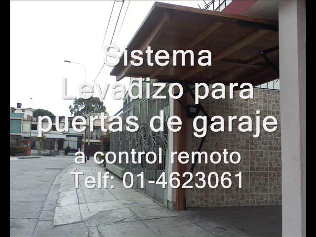 puertas de garaje PERU DOOR Telf4623061