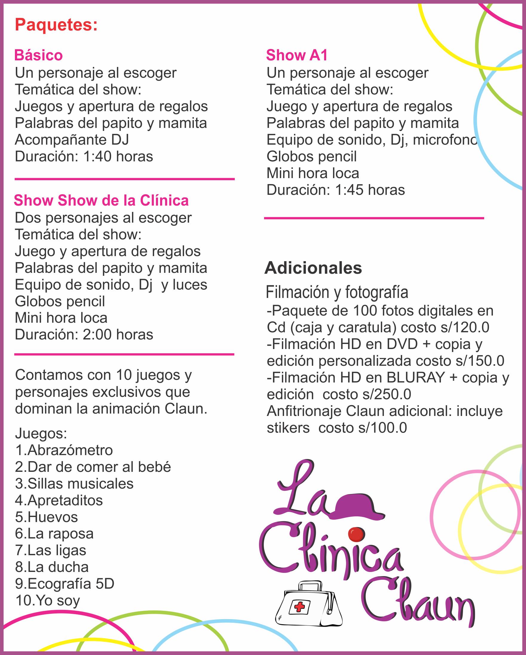 La clinica claun lima jr cutervo 1818 959884 for Lista de empresas en lima
