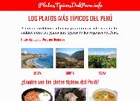 Sitio web de Platos Típicos del Perú