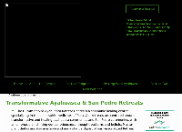 Sitio web de Hummingbird Ayahuasca Retreat Center