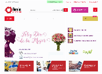 Sitio web de Florerías Lima