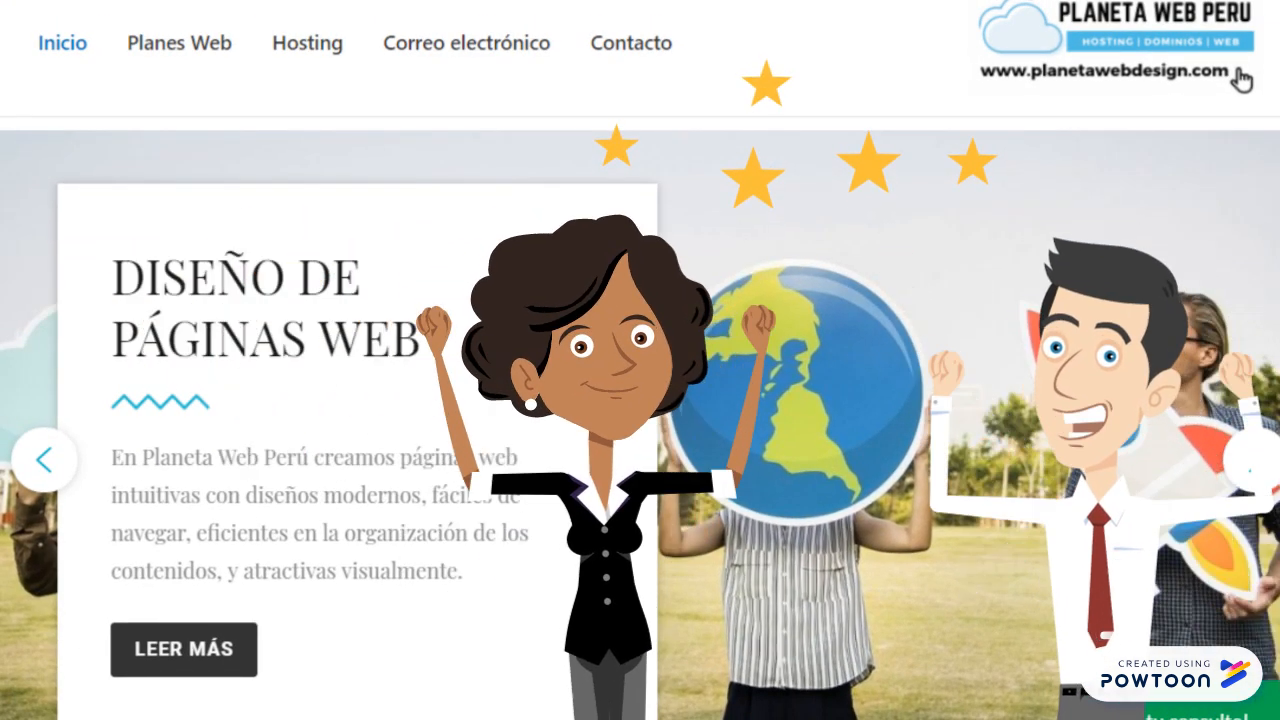 Presentacion Planeta Web Peru